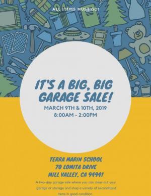 Big Garage  Sale!
