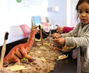 Dino Dig at the Bay Area Discovery Museum
