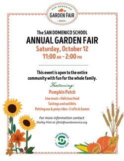 San Domenico School Annual Garden Fair