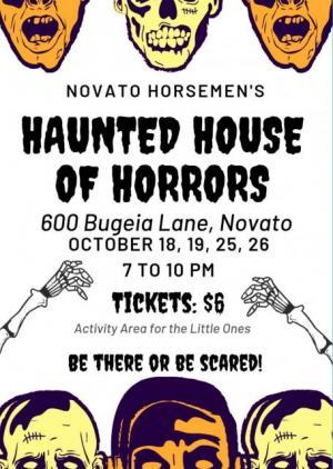 Horsemen Haunted House flier