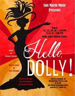 Hello Dolly! San Marin High School