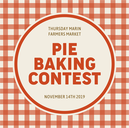 AIM First Annual Pie Baking Contest, San Rafael