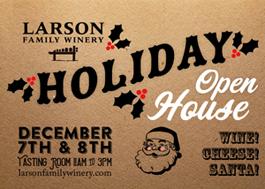 Larson Family Winery Open House