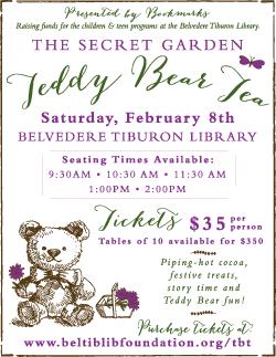 Teddy Bear Tea, Tiburon