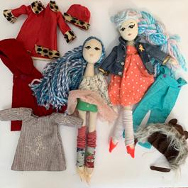 Little Tree Art Studio Doll Design Camp Marin Mommies