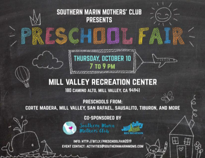 Southern Marin Mothers' Club Presents Preschool Fair
