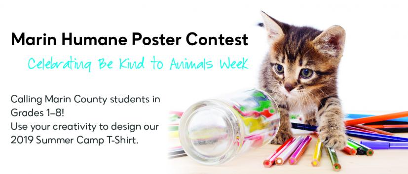 Marin Humane Poster Contest