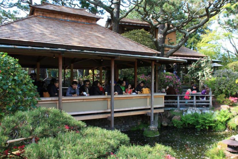 The Japanese Tea Garden Features True To Its Name A Traditional House On Grounds Where You Can Sit Relax And Drink Pot Of