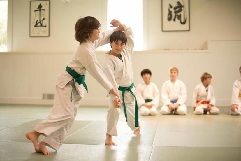 aikido kids of tamalpais