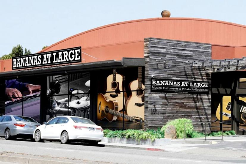 Bananas at Large music store, San Rafael