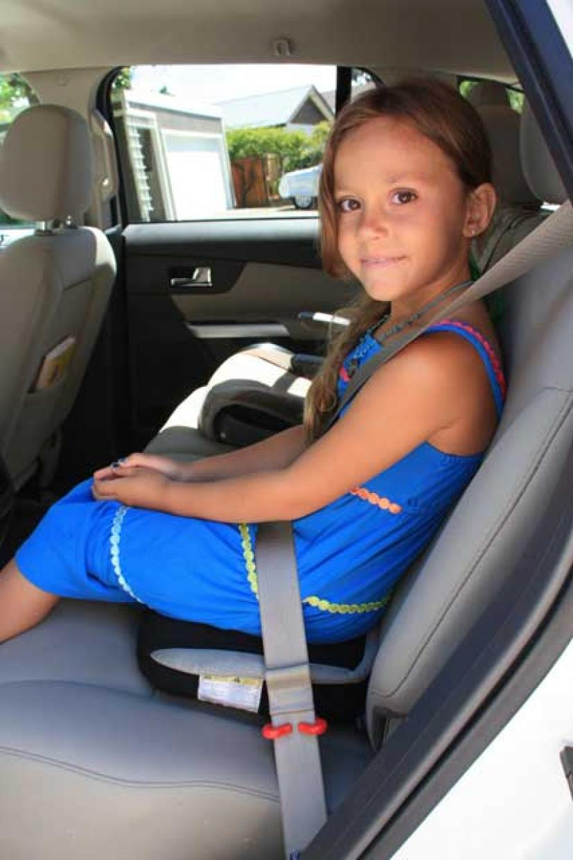 The BubbleBum Inflatable Booster Seat Makes Summer Travel Easier ...