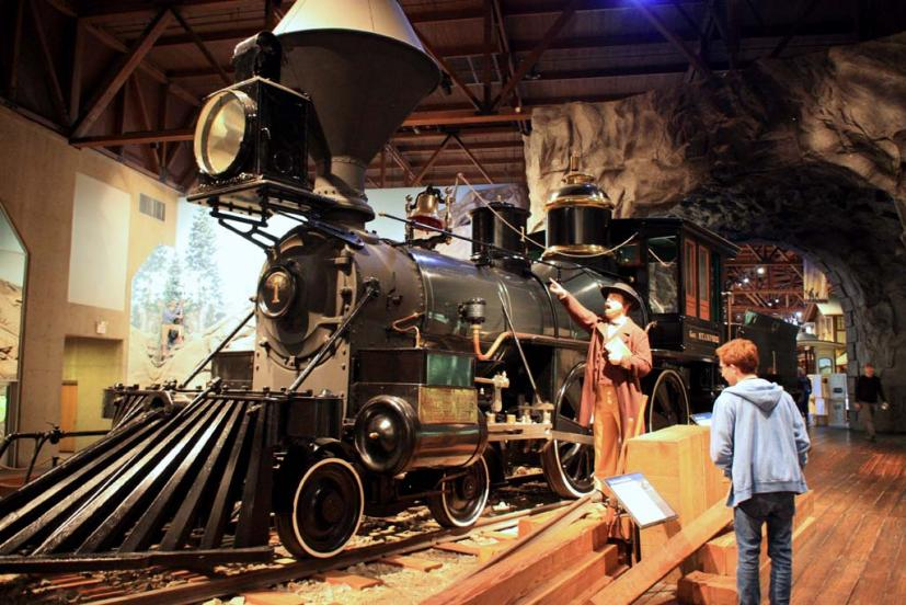 Family Day Trip to Sacramento's California State Railroad