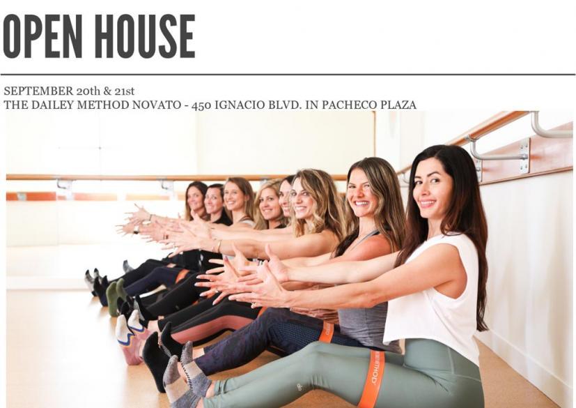 The Dailey Method Open House Novato