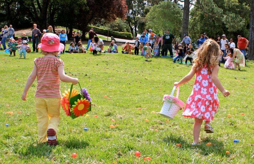 Easter Egg Hunt, Marin County