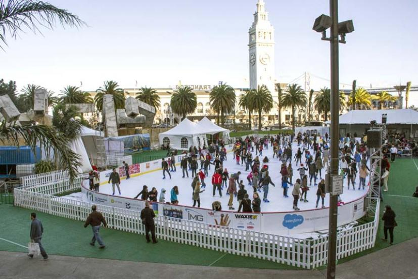 Embarcardero Center Holiday Ice Rink