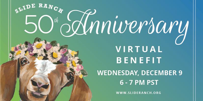Slide Ranch 50th anniversary virtual benefit