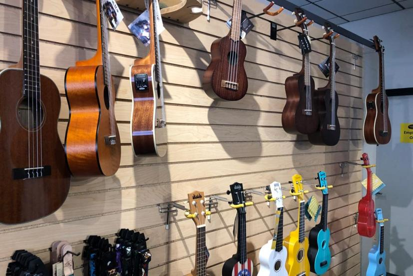 Marin Music Center Novato ukuleles