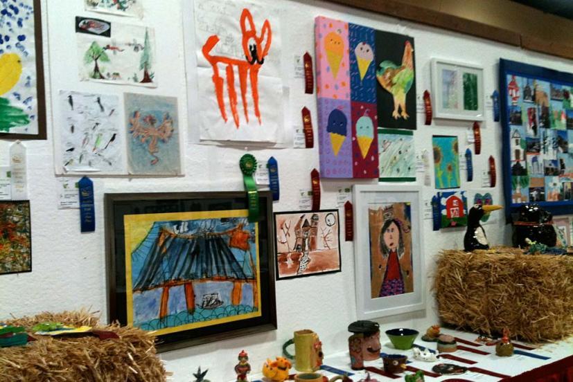 Marin County Fair entries