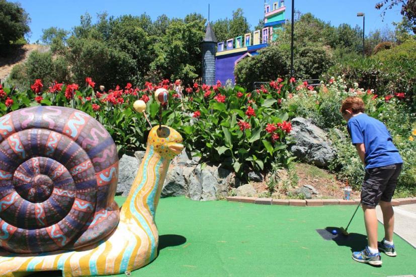 McInnis Park Mini golf San Rafael