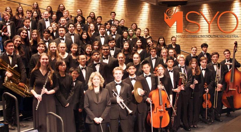 Marin Symphony Youth Orchestra performers