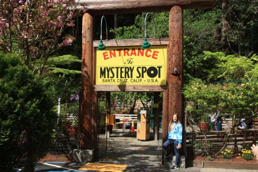The Mystery Spot Santa Cruz