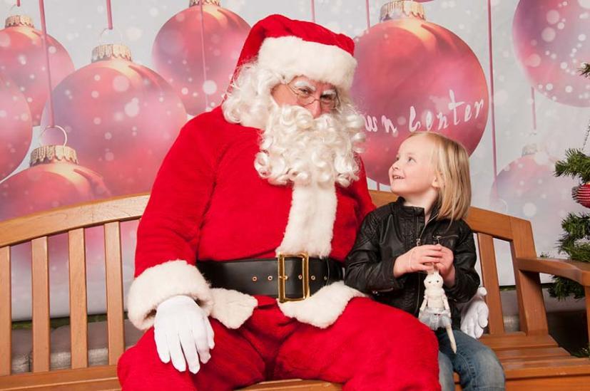 Santa Photos Town Center Corte Madera
