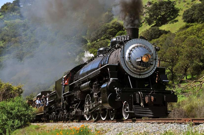 Niles Canyon Railway Fremont steam locomotive