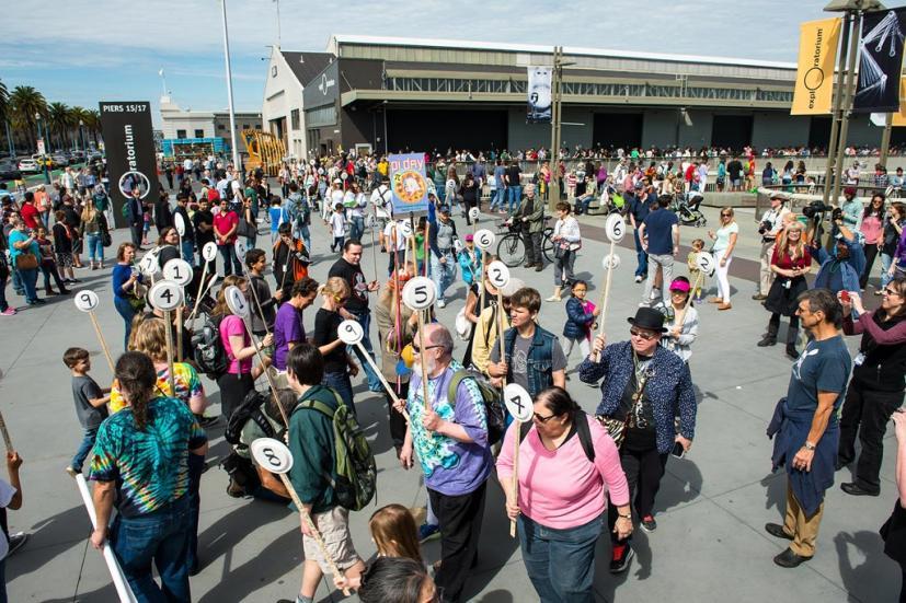 Pi Day at the Exploratorium