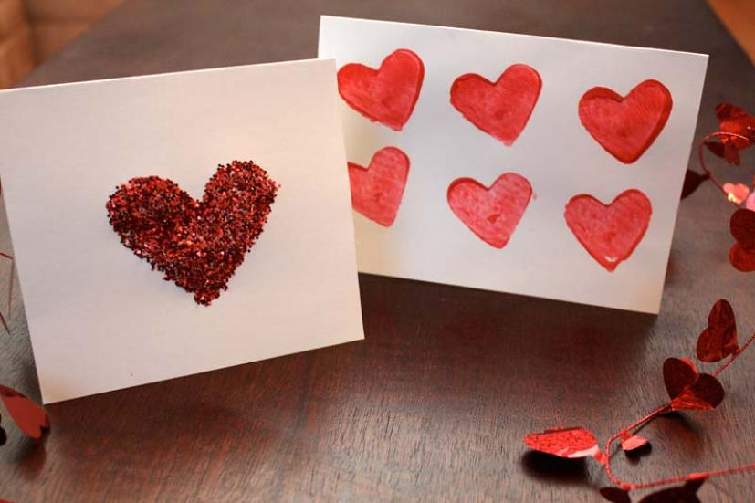 4 Fun And Easy Homemade Valentine S Day Cards Marin Mommies