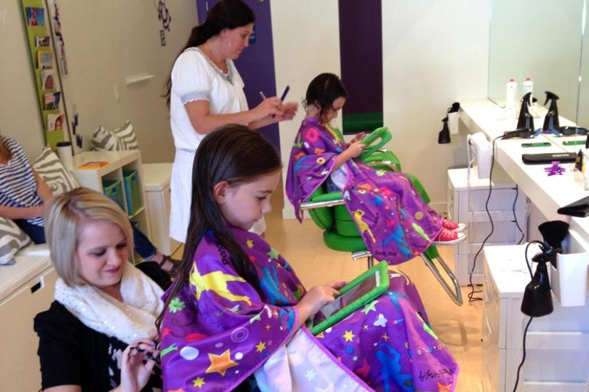 Purple Monkey Kids' Haircuts Tiburon