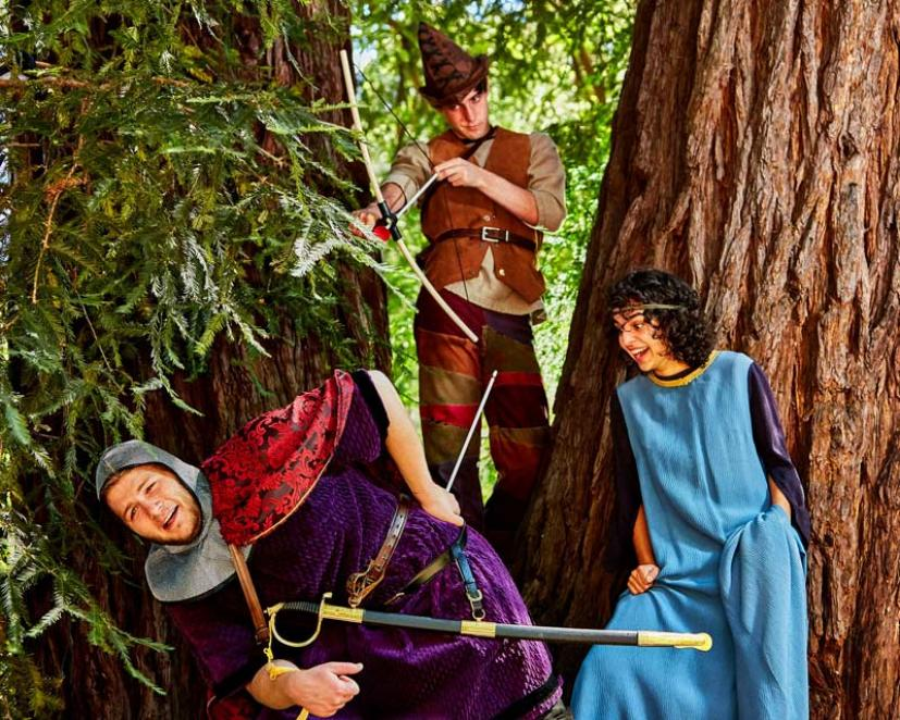 This Weekend Ross Valley Players Presents Its Production Of The Family Favorite Robin Hood By Ivey Award Winner Greg Banks Clic Tale Good