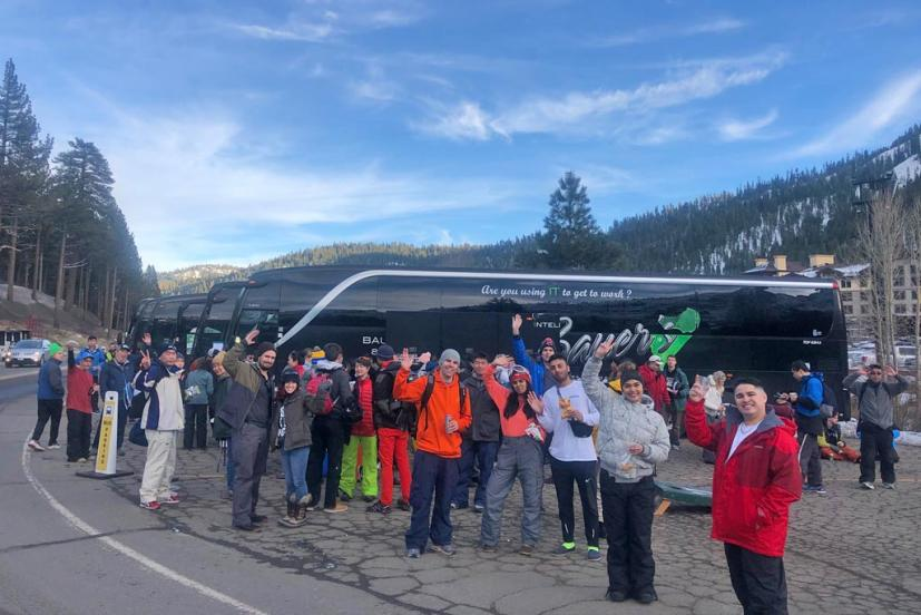 Sports Basement Tahoe Ski Bus