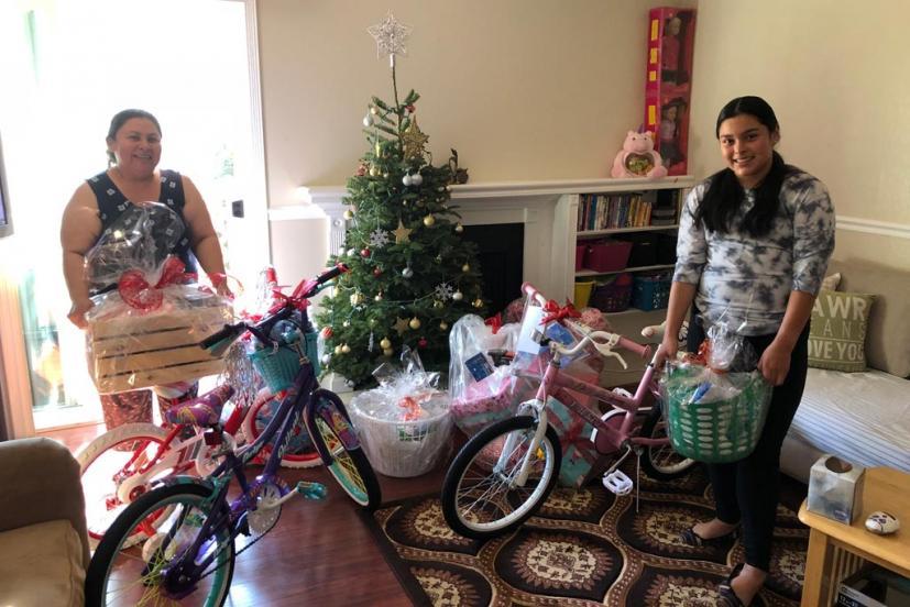 Sparkle Foundation gift recipients