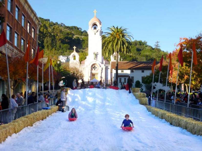 San Rafael  >> Does It Really Snow In Downtown San Rafael Marin Mommies