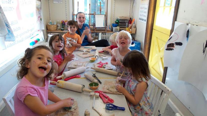 Studio 4 Art offers Spring Break camps in both Novato and Mill Valley.