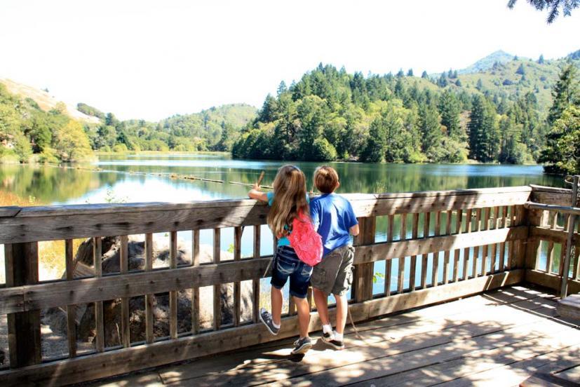 Summer Hikes Lake Lagunitas Sky Oaks