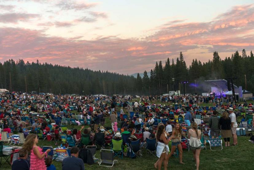 Tahoe Donner Summer Concert on the Green