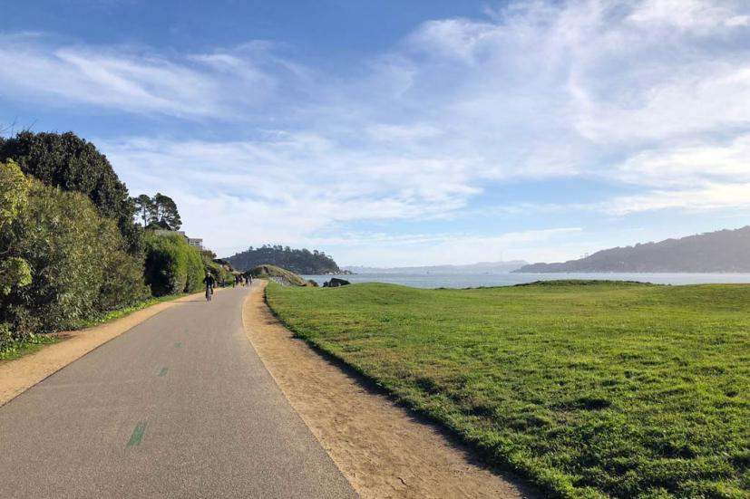 Tiburon Bike Path
