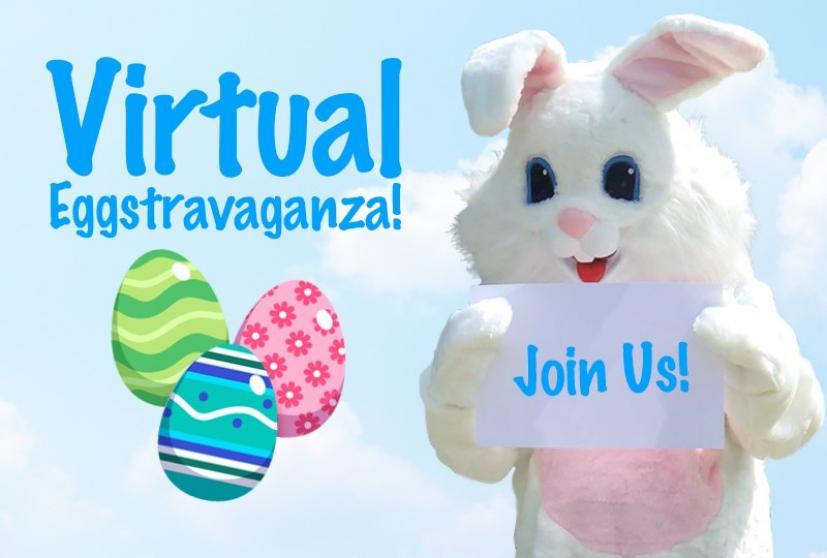 Virtual Eggstravaganza Mill Valley Easter Bunny
