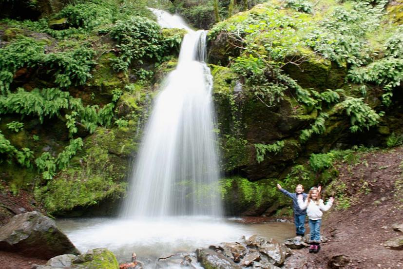 Marin waterfall hikes