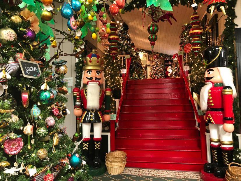 West End Nursery Christmas House San Rafael
