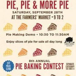 8th Annual Pie Baking Contest, Marin Country Mart
