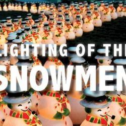 Lighting of the Snowmen CornerStone Sonoma
