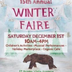 Greenwood School 15th Annual Winter Faire