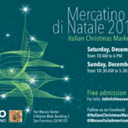 Italian Christmas Market–Fort Mason Center