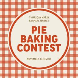 AIM First Annual Pie Baking Contest, San Rafael