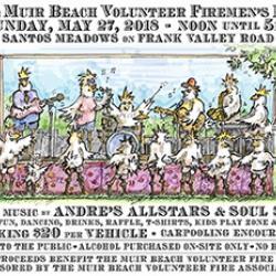 Muir Beach Volunteer Firemen's BBQ