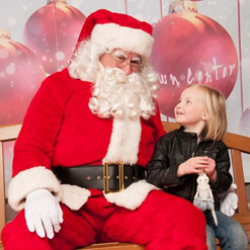 Santa photos in Marin