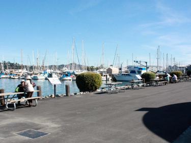 Sausalito Marinship Waterfront