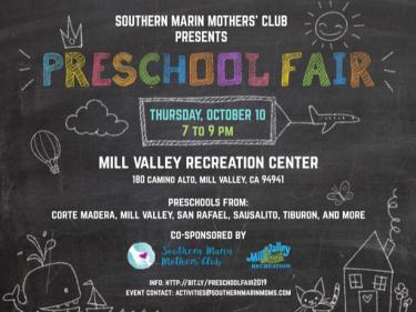 Southern Marin Mothers' Club Presents Preschool Fair